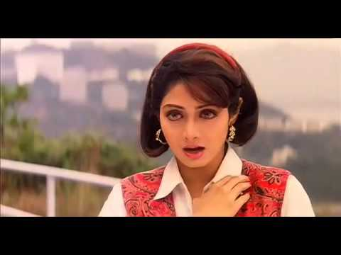 Sridevi and Sanjay Dutt in a song in Gumrah 1993 HD