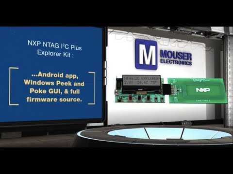 NXP NTAG I2C Plus Explorer Kit | New Product Brief
