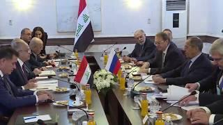 С.Лавров и М.Хаким (в широком составе), Багдад, 7.10.19