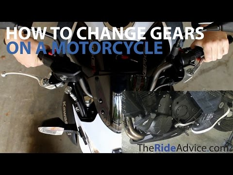 How to Shift Gears on a Motorcycle: 10 Steps (with Pictures)
