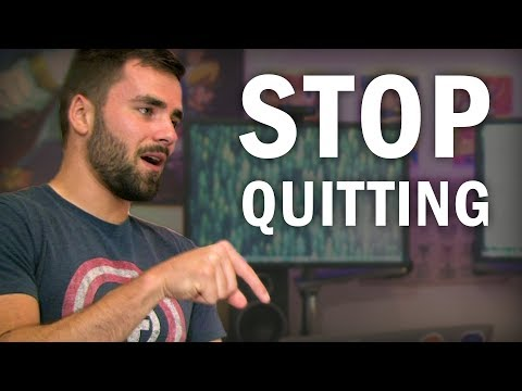 Stop Quitting: How to Stick to Your Goals and Routines
