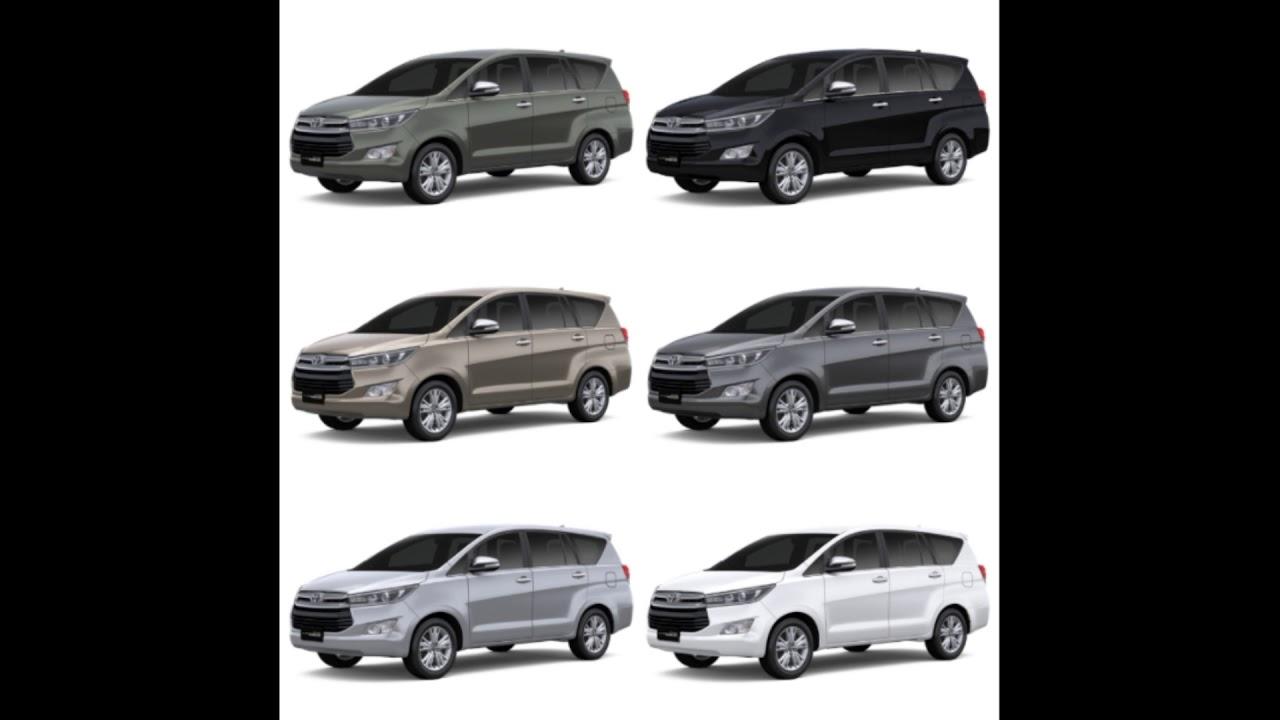 Pilihan Warna All New Kijang Innova Camry Hybrid Toyota 2019 Youtube