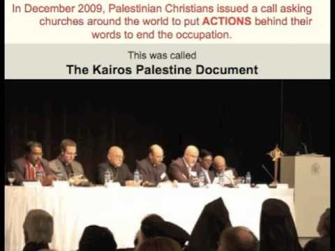 United Methodist Kairos Response - Answering The Call From Holy Land Christians