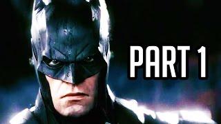 Batman Arkham Knight Walkthrough Part 1 - Batmobile (Batman Arkham Knight Gameplay PS4/XB1/PC)