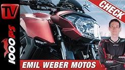 Emil Weber Motos Betriebsprüfung - einzigartige Custombikes aus dem Herzen Zürichs