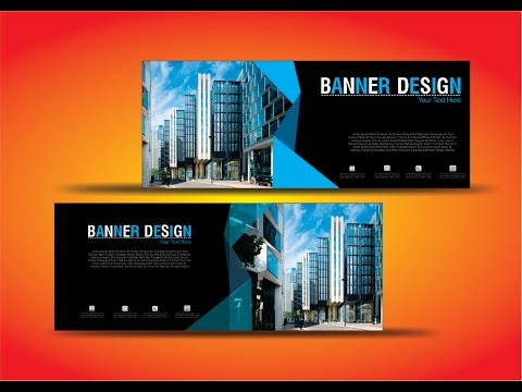 Banner Design in CorelDraw x7 new idea best tutorial by as graphics