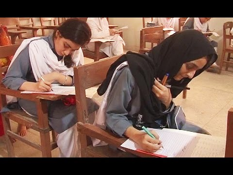 What happened when Sindh Education minister visit to girls college in Karachi ? Watch this video