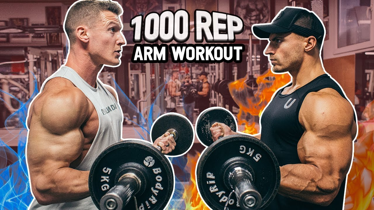 1,000 REP ARM WORKOUT With MattDoesFitness