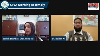 CPSA Morning Assembly Friday 1-29-2021