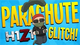 PARACHUTE GLITCH! - H1Z1 King of the Kill (Funny Moments)