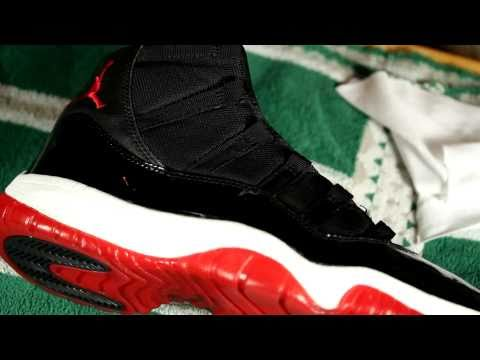 Patent Leather & Removing Scuff Marks on Air Jordan 11 (XI)