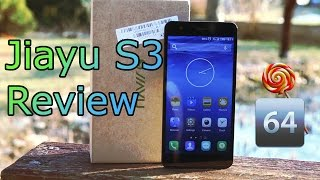 jiayu S3 Review - 4G LTE Smartphone - 64-Bit OctaCore MT6752 Flagship HD
