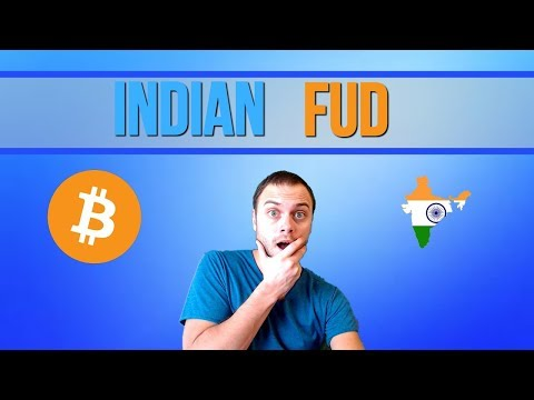 Indian FUD Sell Off | Markets Crashing | Sell Bitcoin?