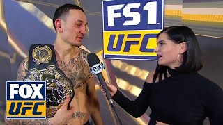Max Holloway speaks after defeating Brian Ortega | INTERVIEW | UFC 231
