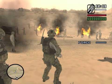 Gta San Andreas Army Vs Zombie Alarm Mod