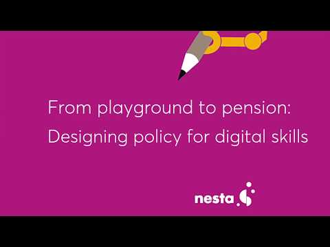 From playground to pension: Designing policy for digital skills