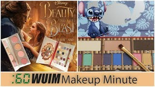 LORAC Beauty and the Beast LAUNCHES! + Lilo and Stitch Eyeshadow Palette! | Makeup Minute