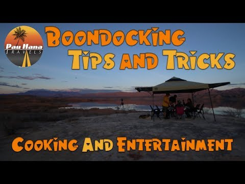 Boondocking Tips and Tricks: Outdoor Cooking & Entertainment | RV Life