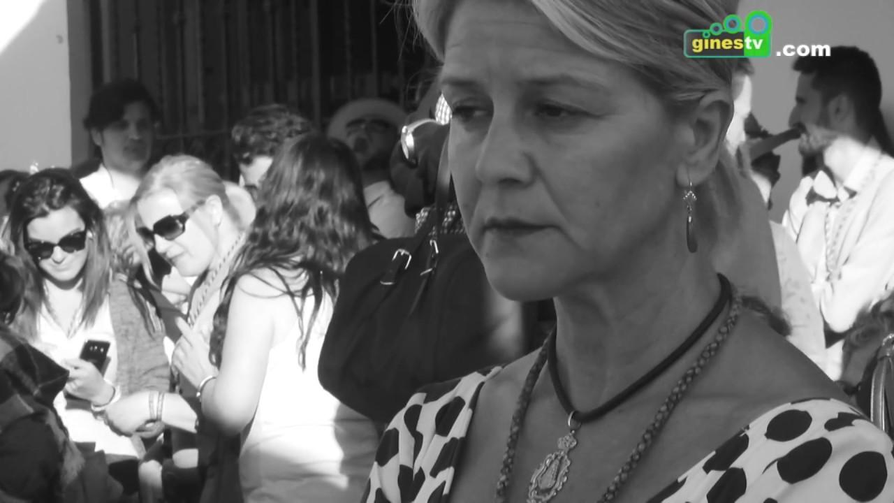 Momentos del Lunes de Pentecostés con la Hermandad de Gines 2017.