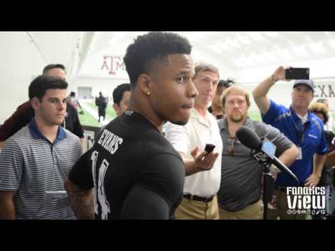 Justin Evans speaks on NFL teams he is meeting with & Pro Day (2017)