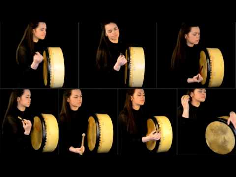 Emma King - Billie Jean Bodhrán Cover