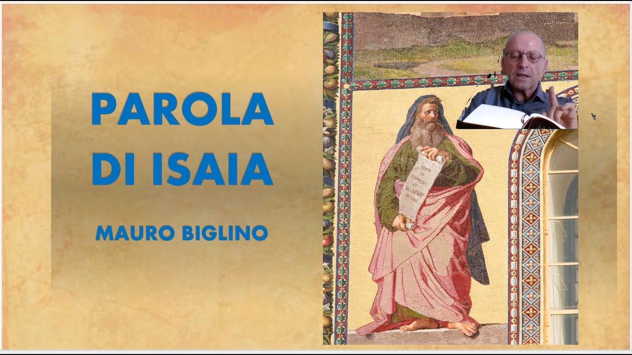 PAROLA DI ISAIA - MAURO BIGLINO