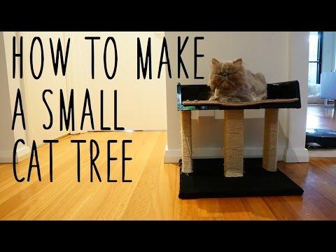 ♥ DIY Small Cat Tree  ♥