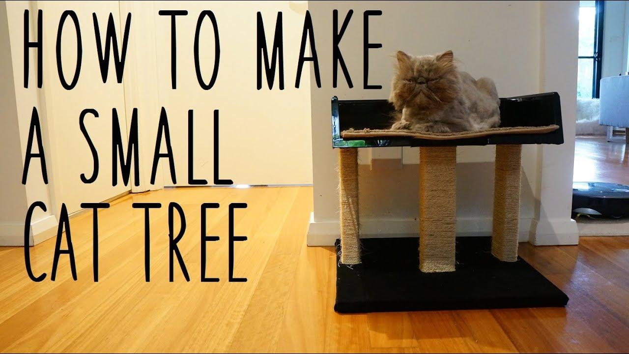 Comment Fabriquer Un Arbre À Chat tutoriel : réaliser soi-même un arbre à chat