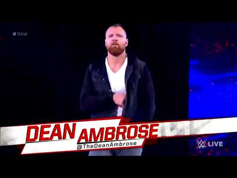 Dean Ambrose's Heel Entrance with