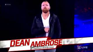 WWE teased a Dean Ambrose heel turn on Monday Night Raw