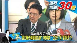 國民黨估韓國瑜能贏10幾萬票、立委57席 選情穩了 少康戰情室 20191212