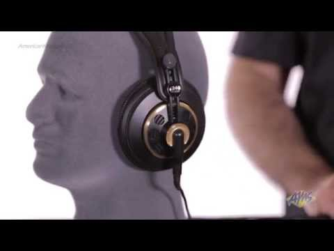 AKG K240 Semi Open Studio Headphones - AKG K240