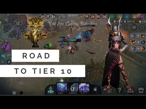 Me Playing Vainglory Varya Play 4 1 Road To Tier 10 Sdy