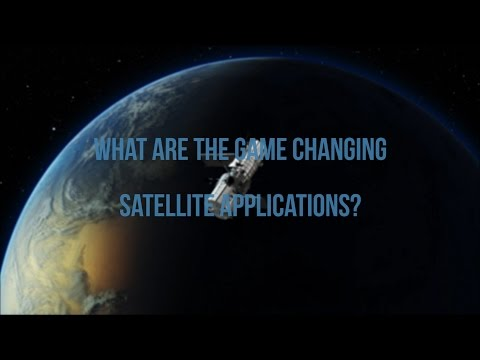 What are the game changing satellite applications?