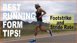 BETTER RUNNING FORM! TIPS FOR PROPER TECHNIQUE: FOOTSTRIKE AND CADENCE | Sage Canaday Coaching