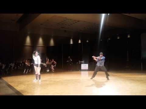 Kat Mykals and Blake Grant Dancing to Uptown Funk