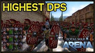 THE HIGHEST DPS COMMANDER! - Total War Arena Gameplay