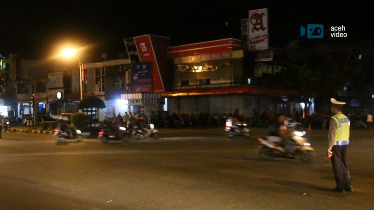 Detik Detik Malam Pergantian Tahun Kota Banda Aceh Sepi Aceh Video