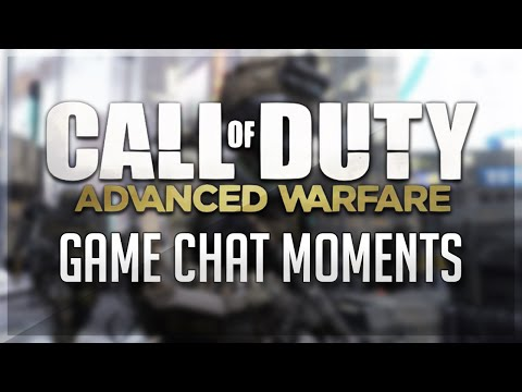 Funny Game Chat Moments On Advanced Warfare! (Live Streaming, Online Funny Moments!)