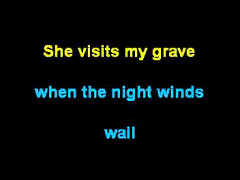 Long Black Veil - Johnny Cash Karaoke