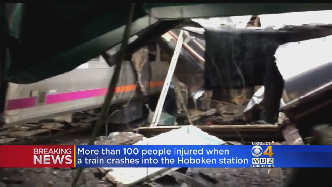Witnesses Recall Horror Of Deadly New Jersey Train Crash
