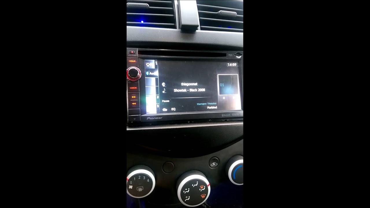 Fonkelnieuw Pioneer Avic f930bt problem - YouTube BE-19