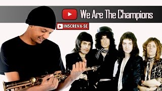 Queen - We Are The Champions (Saxophone Cover)