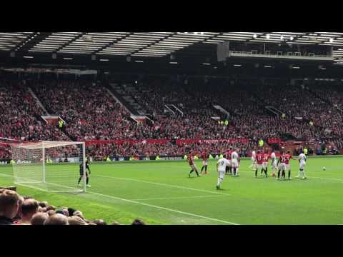 Gylfi Sigurdsson Free Kick v Manchester United - View from my seat