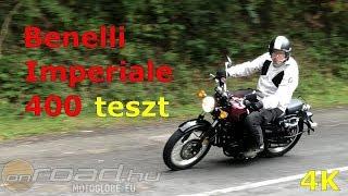 Benelli Imperiale 400 teszt: egy igazi különlegesség - Onroad.hu