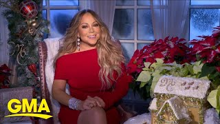 Mariah Carey shares her family's holiday plans and favorite traditions l GMA