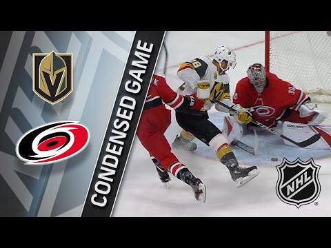 01/21/18 Condensed Game: Golden Knights @ Hurricanes