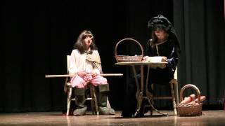 Cyrano de Bergerac at Kealing Middle School, Austin Texas - Act 2