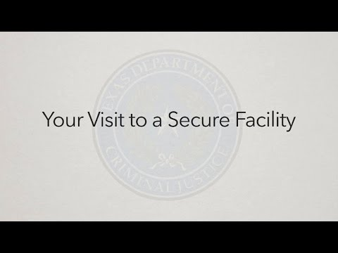Visiting an inmate in Texas | PrisonPro