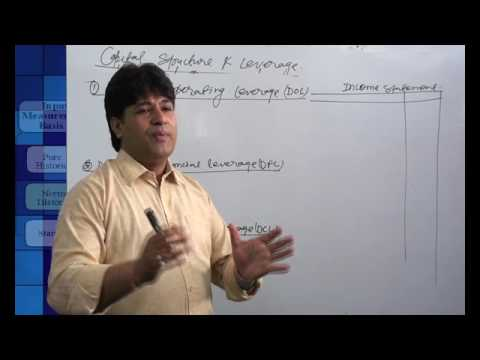 capital structure and leverage